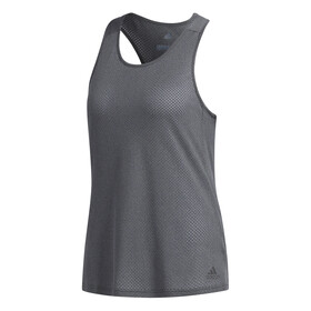 adidas Response Tank Women dark grey heather